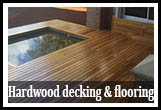 Hard wood decking