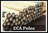 CCA Treated gum poles